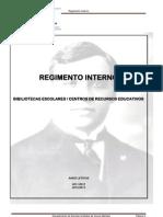 Regimento Interno BE 11.12