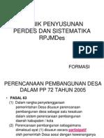 16 Regulasi Dan Sisitematika Rpjmdes Dan Rkp Desa