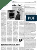 Nur Steuern verleihen Wert, Interview Lietaer, TAZ