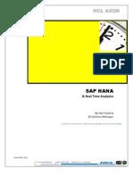 SAP HANA and Real Time Analytics_BI