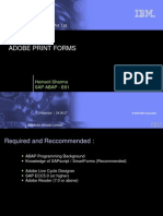 Adobe Print Forms
