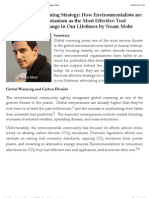 Global Warming Veg Strategy by Noam Mohr
