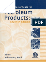 3572.Manual on Significance of Tests for Petroleum Products by Salvatore J. Rand