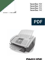 Manual de Utilizare Philips LPF 925