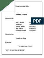 Entrepreneurship Final Project