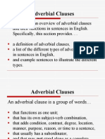 ADV-Intro Adverbial Clauses