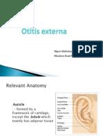 External Ear Pathology - Presentation
