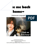 Take Me Back Home (Indonesian Language)