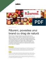 BrandFusion Studiu de Caz Raureni