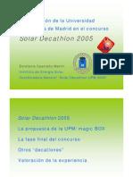 UPM Solar Decathlon 2005