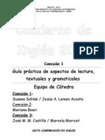 Cuadernillo de Inglés 2012