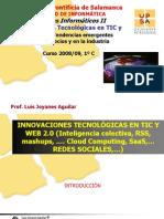 Innovaciones TIC Web20 Oct 08 [Autoguardado]