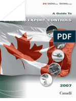 Canadianexportcontrols2007 En