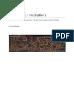 Pookkaattiyur Inscriptions
