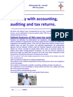 Da Away With Accounting, Auditing and Tax Returns