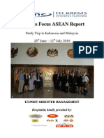 BFA 2010, EU-ASEAN Public Diplomacy - Business Networking (Integrated Report)