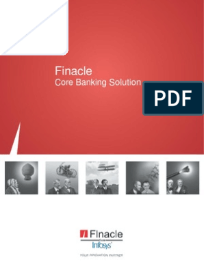 Finacle Core Banking Solution Pdf