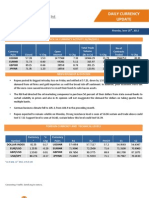 Daily Currency Update Report 25-06-2012