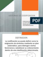 Sistemas de Codificacion
