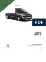 Ficha Técnica Peugeot 5008