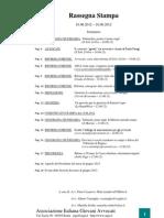 rassegna stampa Aiga nazionale 10-16 giugno 2012
