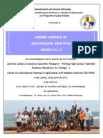 Invitacion Simposio de Investigación Científica Campamento Verano 2012 UPR Aguadilla