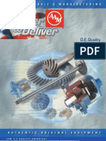 AAM Parts Manual