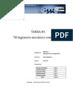 Introduccion a la ingemieria - Entrevista ingeniero mecanico