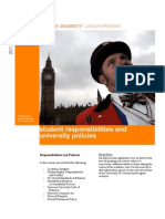 SU London Handbook 2011/12