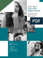 Life After High School - Executive Summary