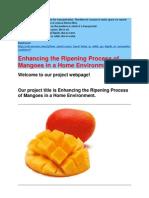 Mango Ripening
