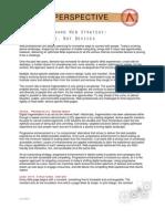 A Future Forward Web Strategy