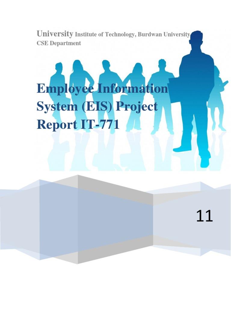 Employee Information System Documentation   Input/Output   Microsoft ...
