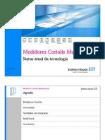 Medidores Coriolis Multivariaveis