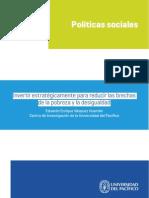 Invertir Estratégicamente para Reducir las Brechas de Probreza UP Eduardo Enrique Vasquez