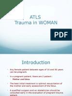 ATLS in Woman