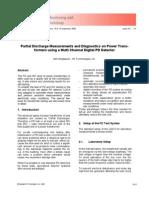 PD Measurements on Power Transformer