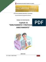 Enrutamiento y Protocolos de Enrutamiento