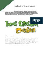Designul îngheţatei
