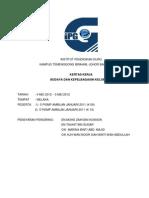 Contoh Kertas Keje Lawatan IP Sem 5