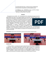 Caracteristicas de Proyección de la Pelota Copa Latina Femenino