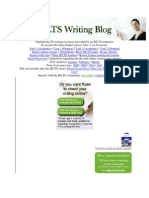 Original IELTS Writing Resources Provided by an IELTS Instructor
