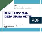 Buku Pedoman Desa Kelurahan Siaga Aktif