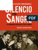 Daniel Cecchini y Jorge Mancinelli - Silencio Por Sangre