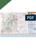 Mapa Colorado Usa Comap_front8x11