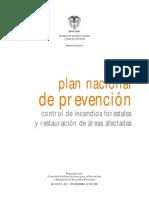 Plan Nacional Prevencion Incendios Forestales 2002