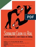 Sexualitat, culpa i el real - Pòster