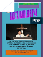 GACETA JUVENIL E.C.B. Nº 48