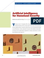 Artificial Intelligence for HomeLand Security