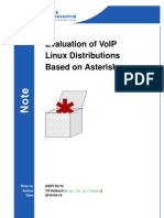 Halbach - Evaluation of VoIP Linux Distributions Based on As